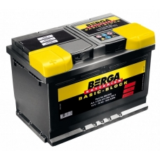 BERGA Basic Block 12v 60ah 540А ЕА R+ L+
